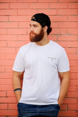 T-shirt  à col rond logo classique