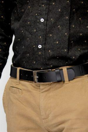 La ceinture minimaliste en cuir