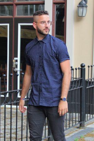 La chemise marine
