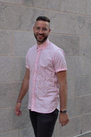 La chemise rose des vents